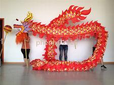 school Party 7m 6 student Chinese dragon dance costume dragon mascot costume