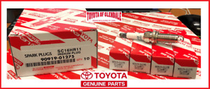 TOYOTA SCION LEXUS GENUINE OEM IRIDIUM SPARK PLUG SET OF 4 FAST SHIP 90919-01275