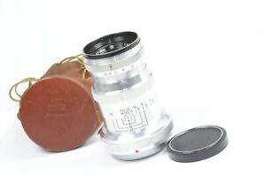 RARE Carl Zeiss TRIOTAR 85mm f4 for rangefinder CONTAX II & III, pre-war version