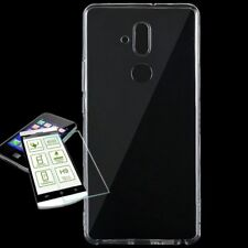 Für Huawei Mate 20 Lite Silikoncase TPU Transparent + 0,26 H9 Glas Tasche Hülle