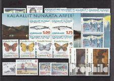 Dänemark-Grönland postfrisch 1997 kompletter Jahrgang in sauberer Erhaltung