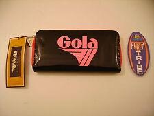 GOLA PORTAFOGLIO BIG DAVIS CUB866 BLACK WATERMELON NERO ROSA 5053087397957