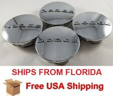"OEM For DODGE AVENGER JOURNEY CARAVAN SET OF 4 CENTER WHEEL CAP 2 1/2"" CHROME"