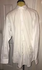 NEW Vivienne Westwood White Long Sleeve Shirt With Orb Logo. Size L (50)