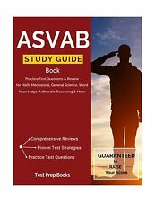 ASVAB Study Guide Book: Practice Test Questions & Review for Ma... Free Shipping