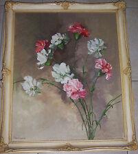 Originale künstlerische Malerein der Zeit 1950-1999 Öl-Technik im Realismus-Stil