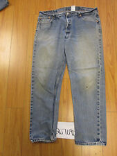levi 501 feathered destroyed grunge jean tag 42x34 Meas 37x30.5 20709F