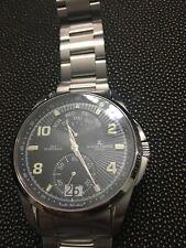 Jacques Lemans G-171 Geneve Swiss Made Watch 316L Steel Day Retrograde Sapphire