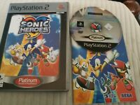 Sonic Heroes -- Platinum Edition (Sony PlayStation 2, 2004) - Pal Version Game