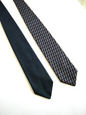 DOUBLE FACE Tie NEW NEW Original 100% SILK MADE IN ITALY