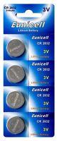 4 x CR2032 3V Lithium Batterie auf (1 Blistercard a 4 Stück ) Eunicell