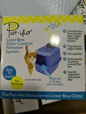 Purr-ifier Litter Box Odor Control Filtration System