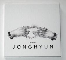 SHINEE Jong Hyun Autographed  2015 SOLO Story Op.1  CD+Photobook+Polaroid