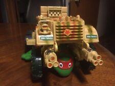 TMNT Ninja Turtles 1992 Mirage Studios Playmates Toy Rare Tank Turtle