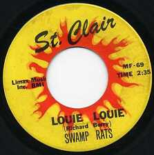 "SWAMP RATS ""LOUIE LOUIE"" ORIG PITT. FUZZ GARAGE SCREAMER 1966"