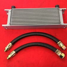 CLASSIC MINI 13 ROW OIL COOLER & PAIR OF RUBBER HOSES KIT