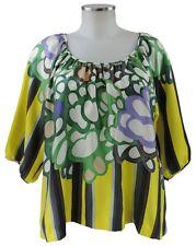 See by Chloe Bluse Shirt 36 (D) Tunika bunt Seide wie neu