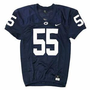 Nike Penn State Stock Vapor Varsity Mesh Jersey Men's Large Blue #55 908727