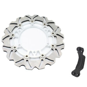 Silver Steel Rear Brake Disc Rotor For Yamaha TMAX500 T-MAX500 2008-2013