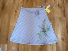 Pretty Lavender Roxy Cotton Detailed Skirt.(Ladies Size 8).Brand New -RRP $64.95