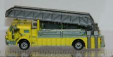 MICRO MACHINES EMERGENCY VEHICLE FIRE TRUCK # 2 LOOSE