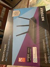 Netgear Nighthawk AC1900 Smart Wi-Fi Dual Band Gigabit Router R7000