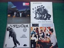 Ska II – 4 Lps, Madness, Specials, Selecter, The Beat (More, Too Much Pressure)