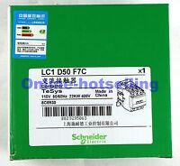 1PC New Schneider Telemecanique Contactor LC1D50F7C 110VAC