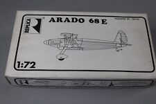 ZC172 Replica Maquette Avion Militaire 1/72 Arado 68 E Résine