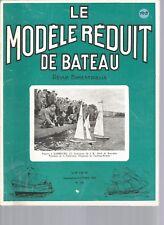 MODELE REDUIT DE BATEAU N°108 PLAN : REMORQUEUR DIESEL DE RIVIERE - ANGE DE MER