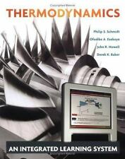 Thermodynamics : An Integrated Learning System by Derek Baker, John R....