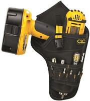 NEW CLC 5023 UNIVERSAL POLYESTER CORDLESS DRILL TOOL HOLSTER POUCH SALE 9834078