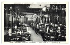 Gage & Tollner's Oyster and Chop House, Brooklyn, NY Postcard *6Q7