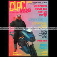 CLAC MOB N°3 COLUCHE GONFLAGE PEUGEOT 103 CHAPLOT GRASS-TRACK SOLEX TAV 1986
