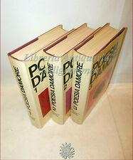 Autori vari dal Mondo: POESIA D'AMORE 3 volumi Illustrati '60 Antologia Poesie