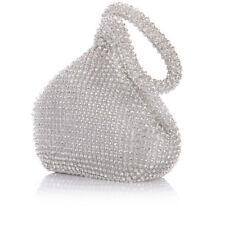 Women's Evening Clutch Bag Triangle Full Rhinestones Party Prom Wedding Purse