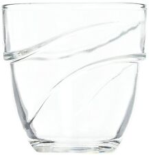 NEW Duralex Wave water glass 220ml, stackable, without filling mark, 6 Glasses