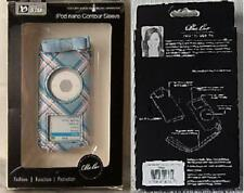 iPOD Nano Contour Sleeve by Pacific Design - Blue Plaid - 2nd Generation PD0854