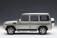 Mercedes-Benz G500 W463 lang LWB 2012 silber silver 1:18 AUTOart 76217 NEU&OVP