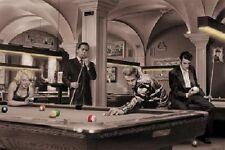 "Chris Consani pop art poster 24x36"" Game of Fate - Billiards Pool Elvis"