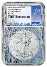 2017 1 oz American Silver Eagle $1 NGC MS70 First Day of Issue SKU44406