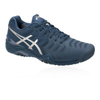 Asics Mens Gel-Resolution Novak Tennis Shoes Navy Blue Sports Breathable