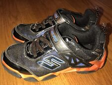 Skechers Skx Air Tricks Black Orange Running Walking Sneakers Boys Shoes Sz 1 #