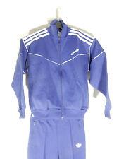 Adidas Trainingsanzug Gr S XS D 152 blau 70er 80er Tracksuit