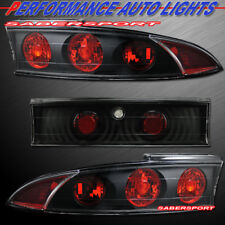 Set of 3pcs Black Altezza Style Taillights for 1995-1999 Mitsubishi Eclipse
