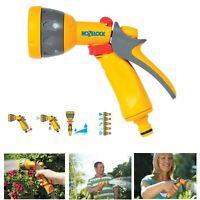 Hozelock Multi Spray Gun Garden Hose Pipe Nozzle Sprayer Garden Water Watering