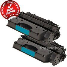 2 Compatible Toner Cartridges for HP CE505X 05X  LaserJet P2055 P2055dn P2055x