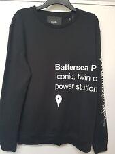 Designer Blood brother Station print sweatshirt sweater jumper size L BNWT New