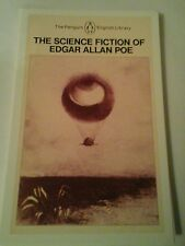 Post card. Penguin Science Fiction book cover. Unposted. Edgar Allen Poe.