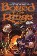 Bored of the Rings: A Parody of J. R. R. Tolkien's Lord of the Rings-ExLibrary